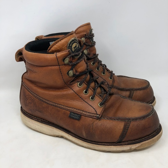 170c83f253ae0 Red Wing Irish Setter Steel Toe Work Boots 9